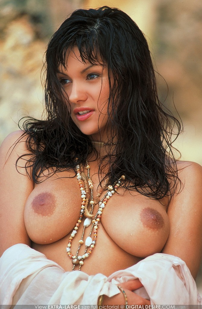 Monica Mendez Decides To Create Her Own Nude Beach In -9871