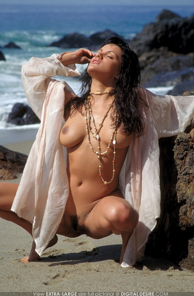 Monica Mendez Decides To Create Her Own Nude Beach In -3789