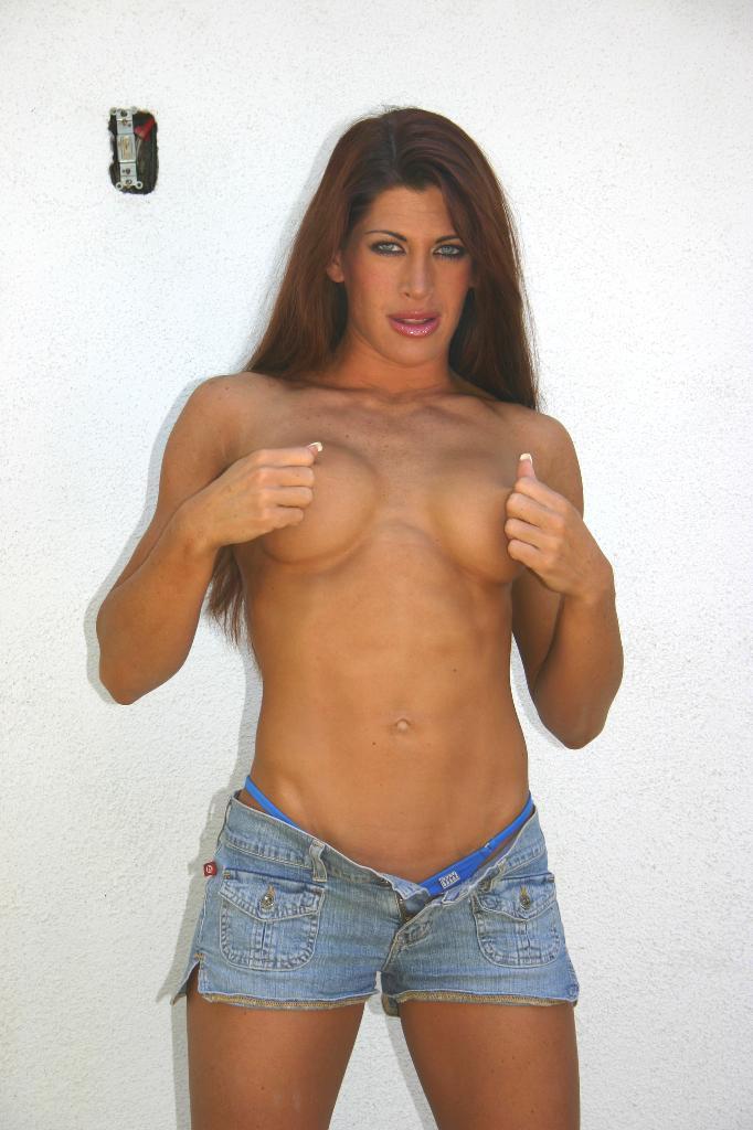 Ebony Muscle Girl Porn