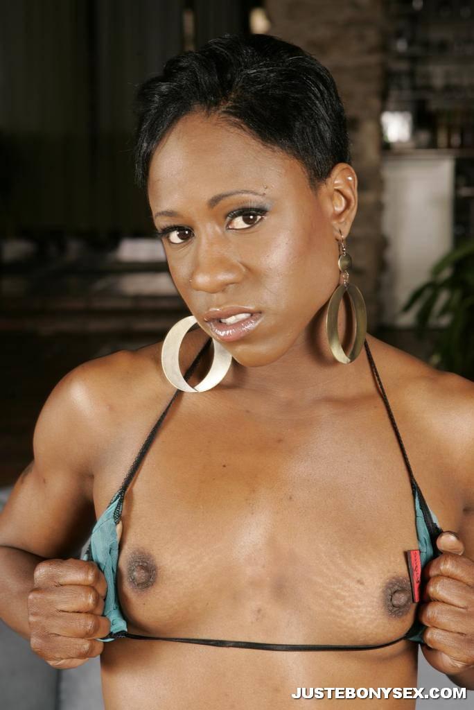 Skinny Black Girl Video
