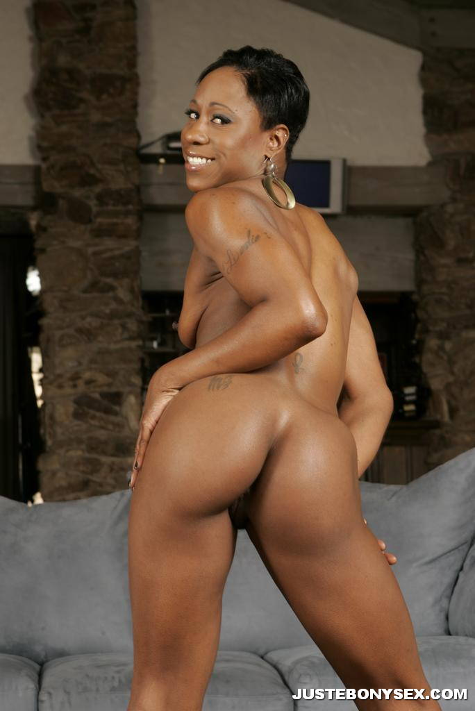 Shame! skinny black girls with