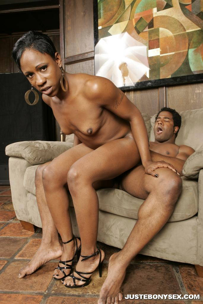 Skinny black girl tube-9646