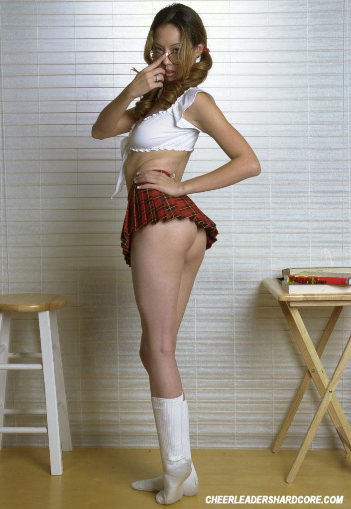 Nerdy Schoolgirl Angelia Naked Show 2106-7332