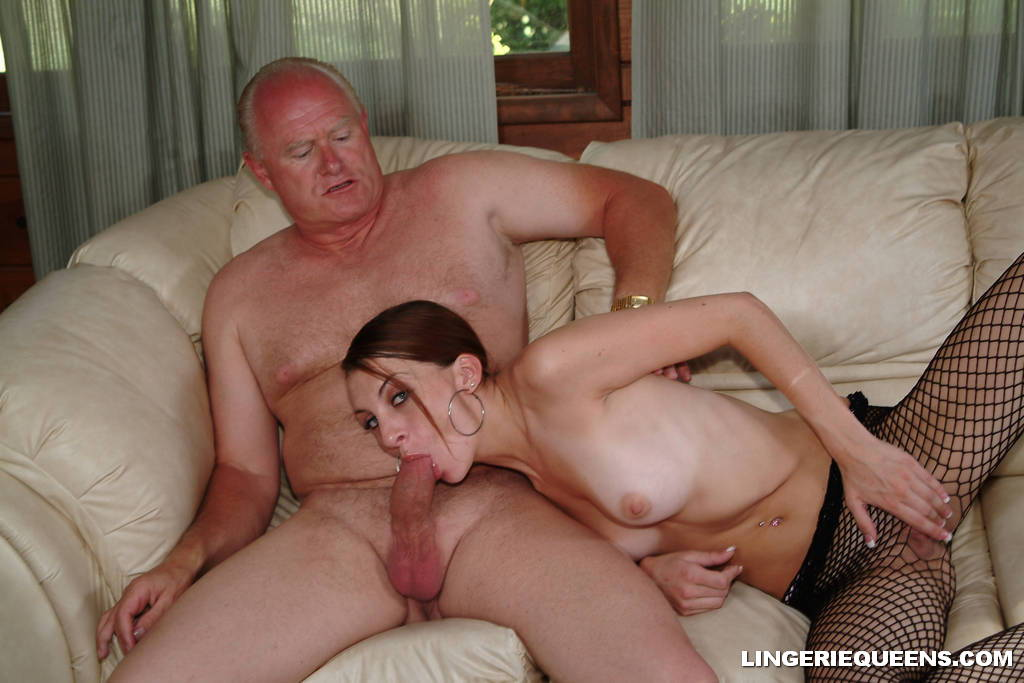 old cock man sucks milf