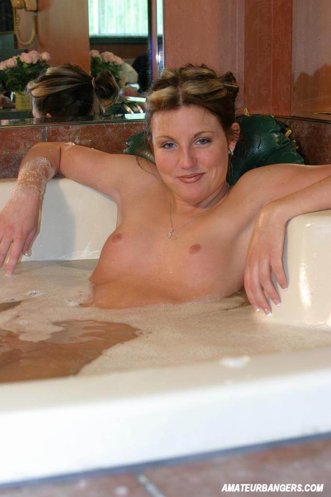Milf in bath