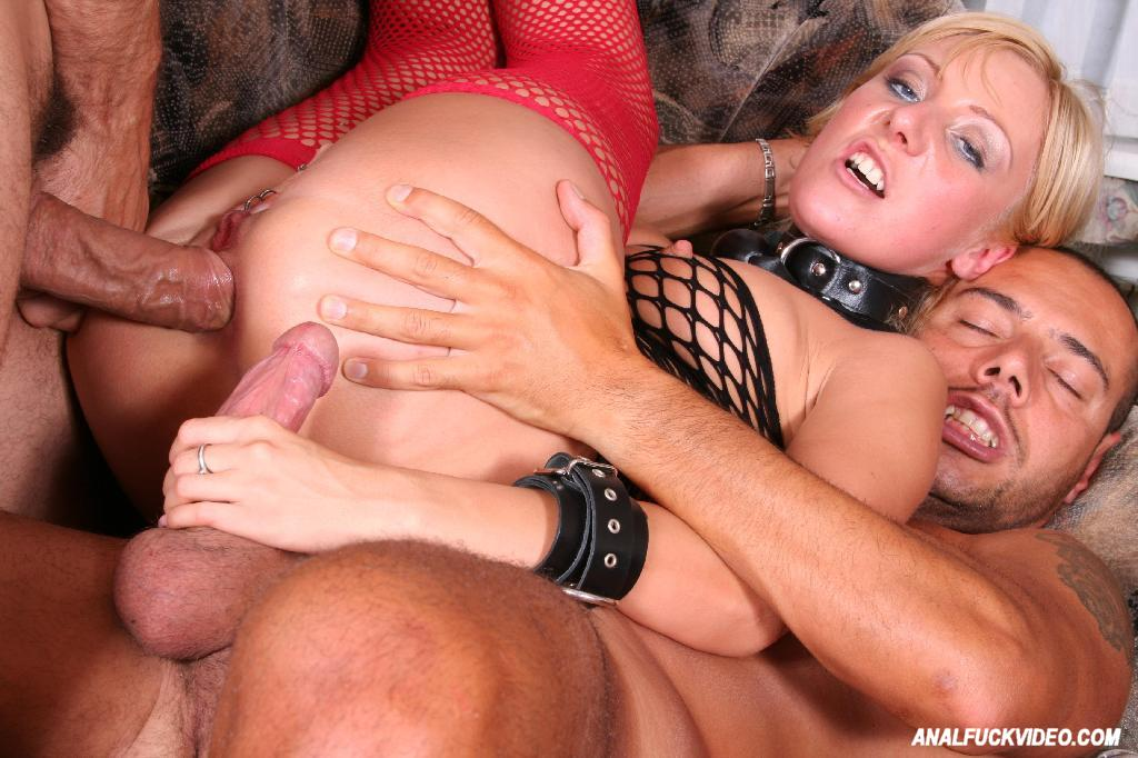 Hot sexy blonde getting penetrated