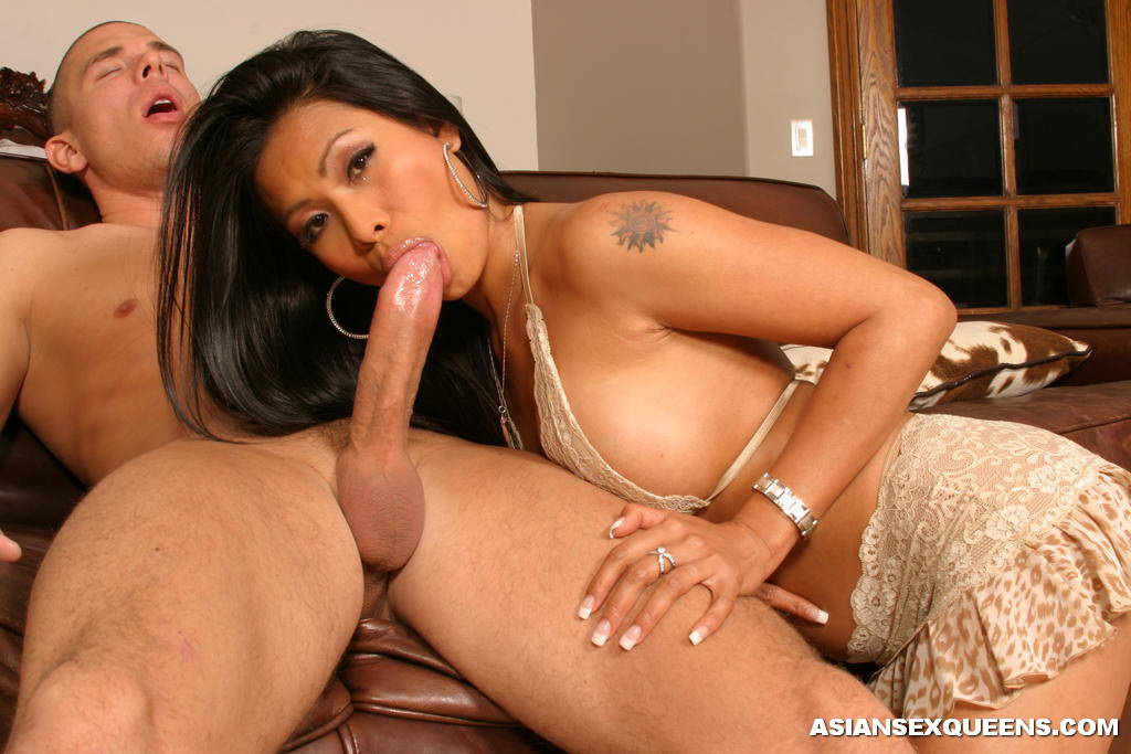 Asian woman and black dick