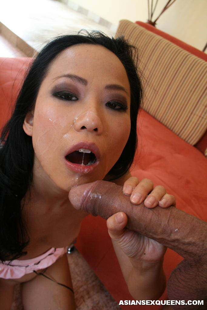 Cock eating bitch
