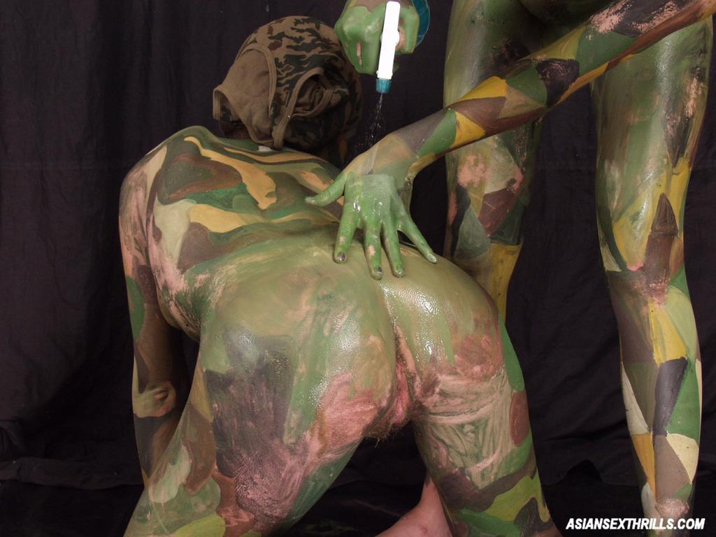 Sexy body paint lesbian sex me?