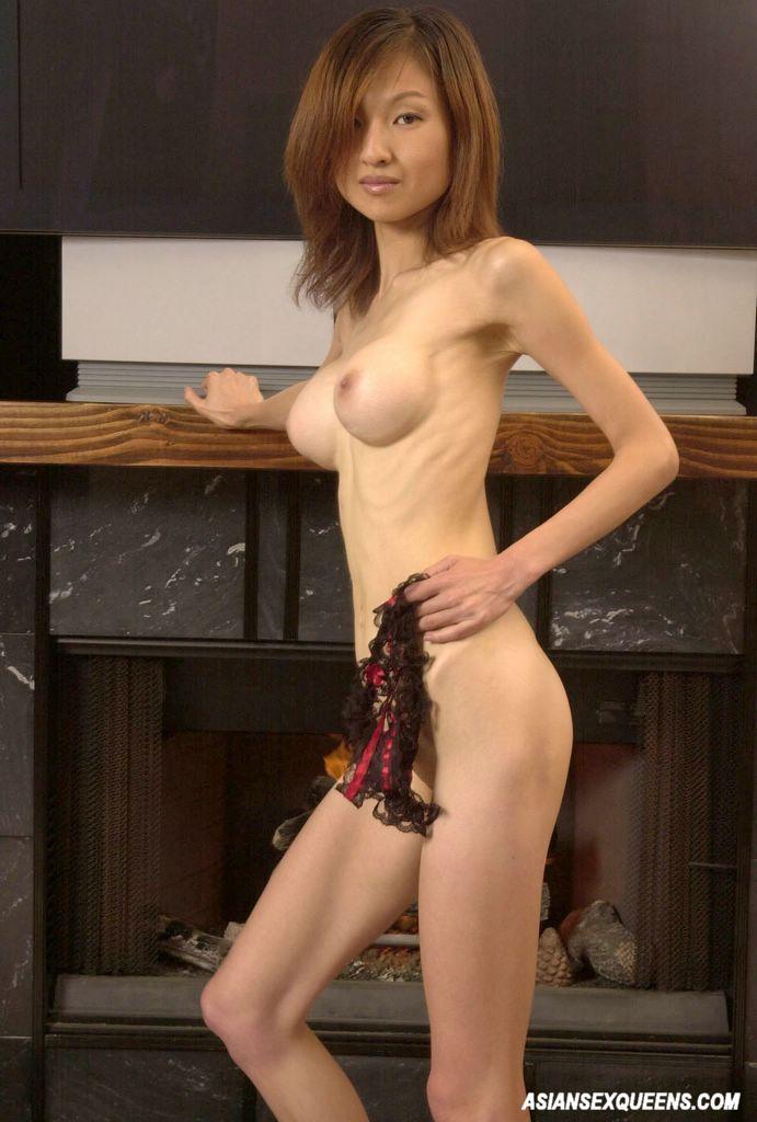 Remarkable, skinny asian slut share