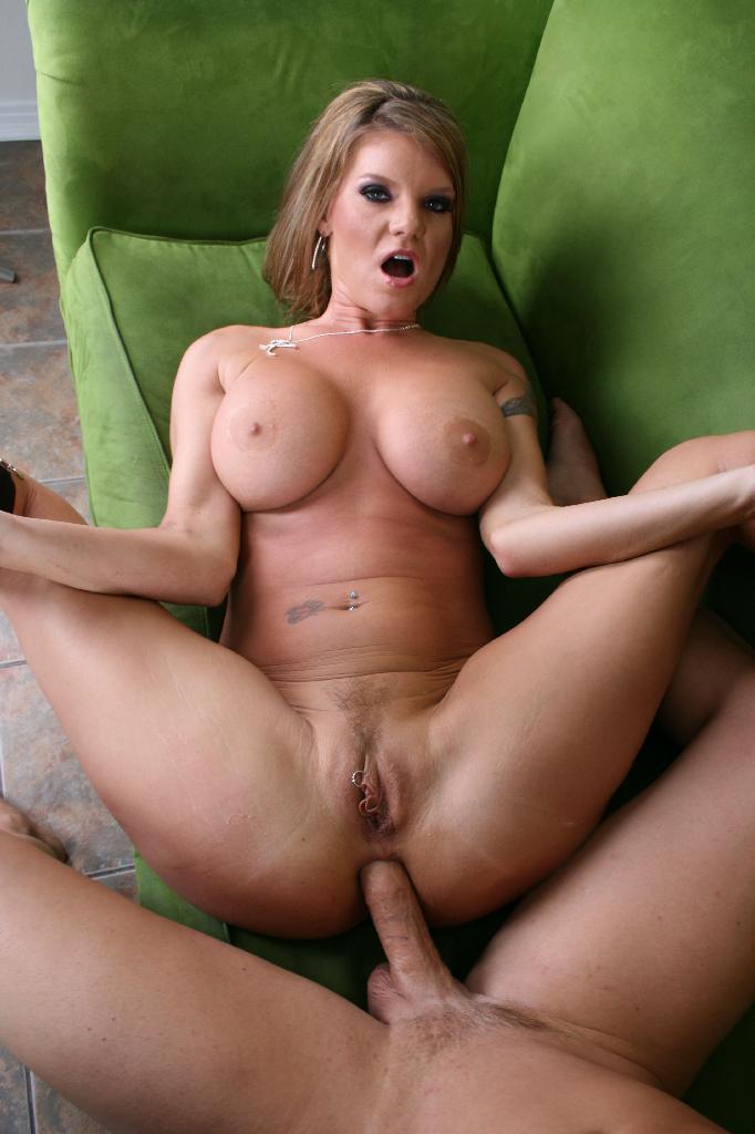 Sexy big tits fucking