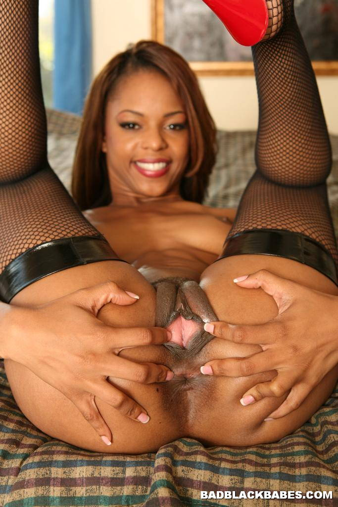 2 ebonys asses for 1 white cock 5