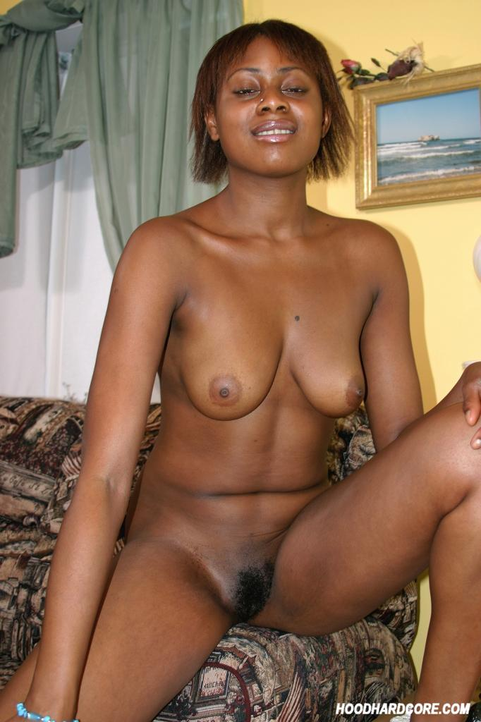 Does not Naked black girl playing with pussy