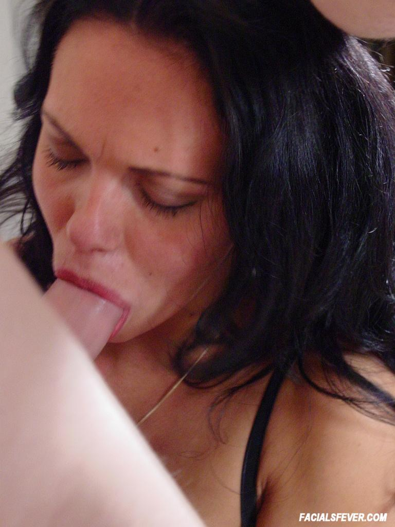 Hot brunette sucking and playing bf big cock like a pro 3 8