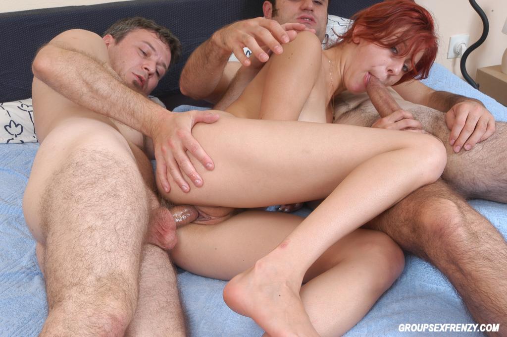 wet threesome
