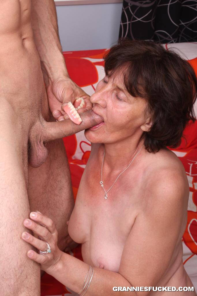 Granny Sucking Young Cock 2698 - Page 6-3388