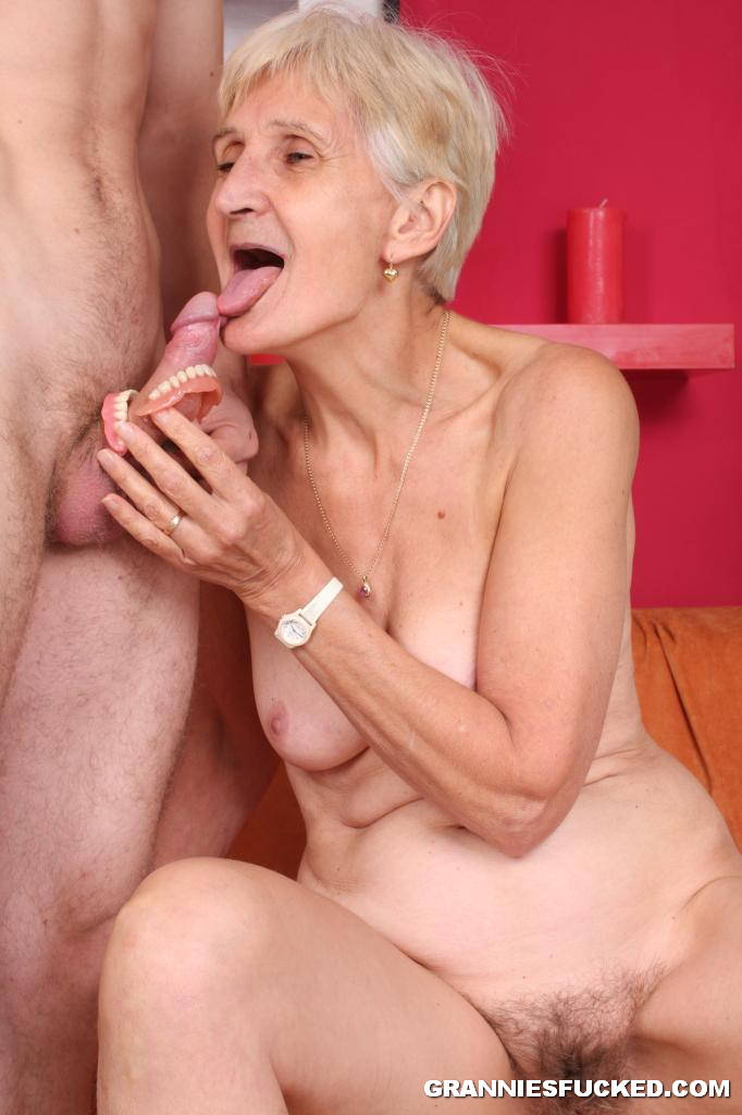 Naughty Granny Riding Younger Cock 2700 - page 2