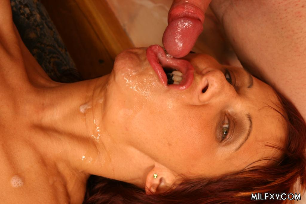 Cum in mouth - Mature Album