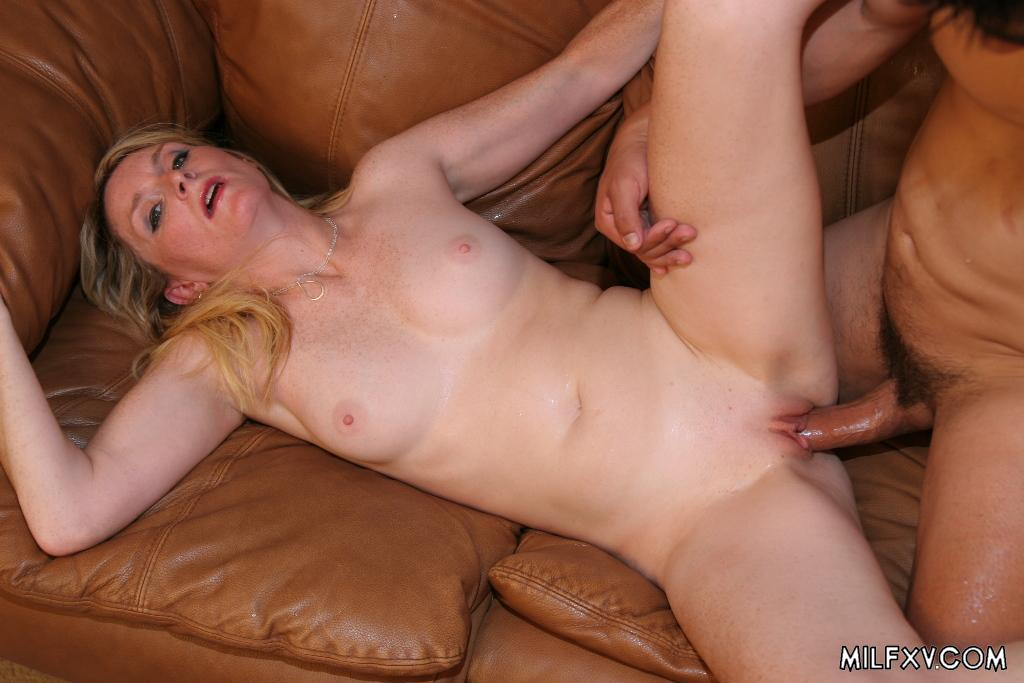 Milf fuck young guy