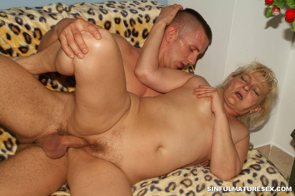 Milf and young cock