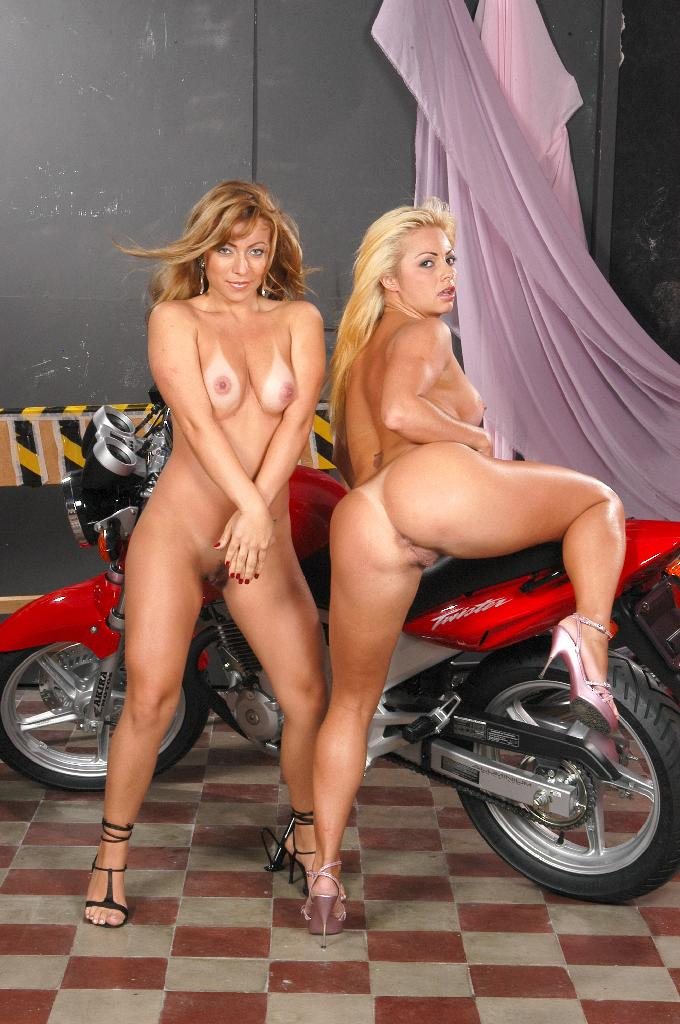 bitches Motorcycle nude