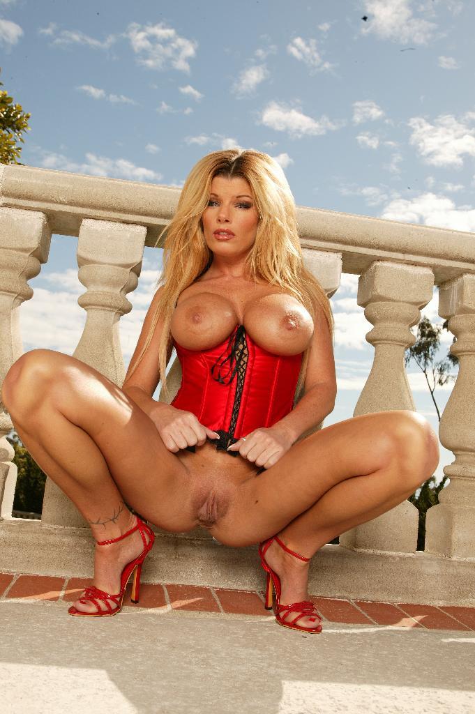 Sexy Blonde Big Tits Porn