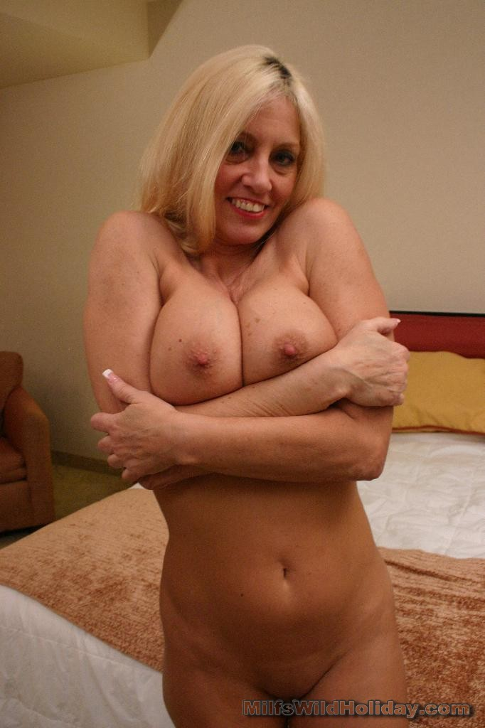 Older woman with large clitoris