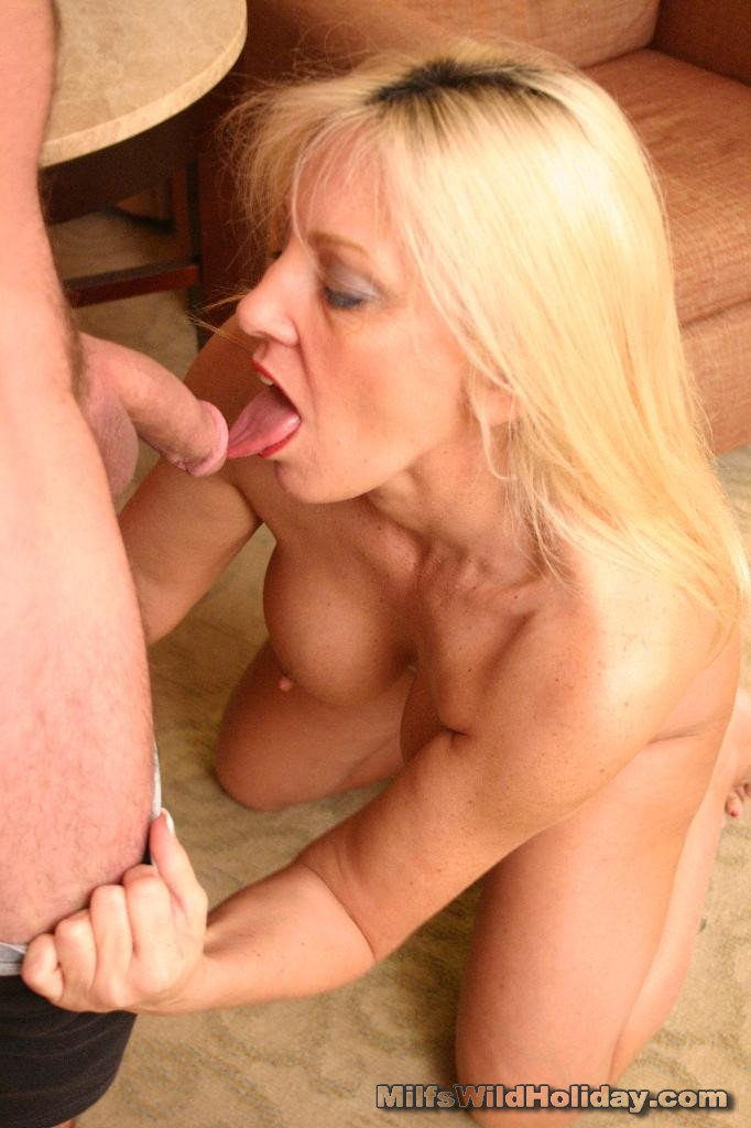Cock mature blonde cunt