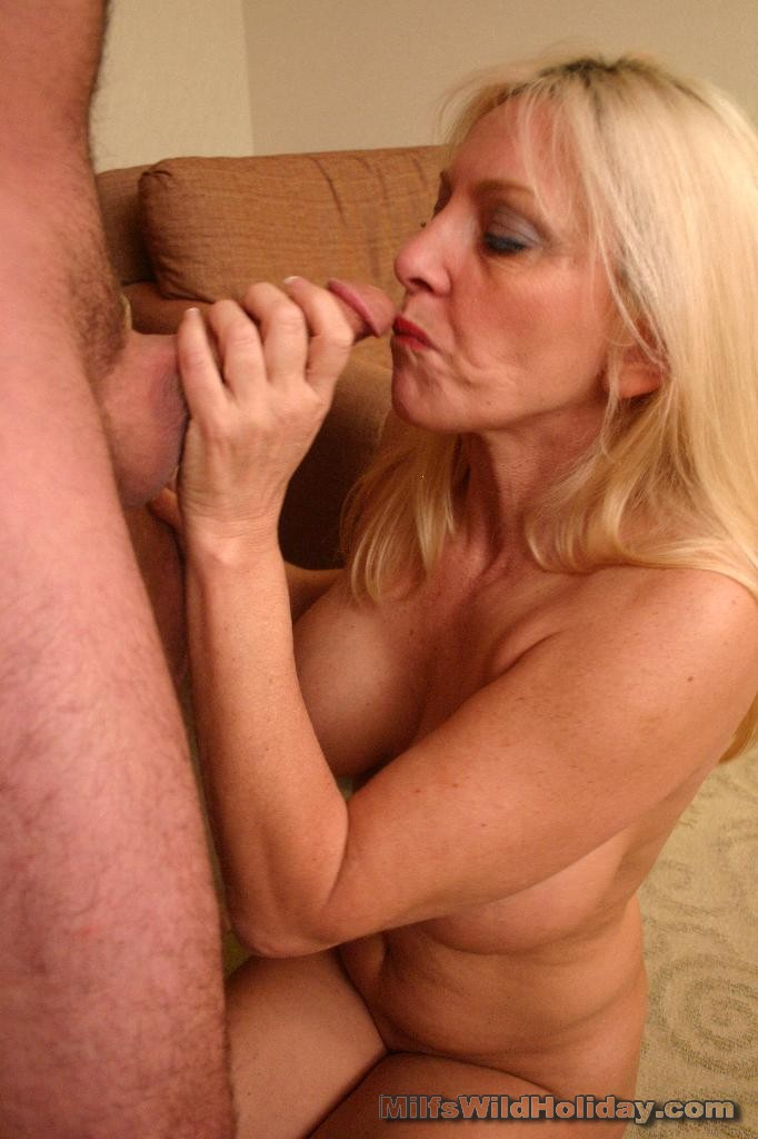 Mature Busty Blonde Drilled