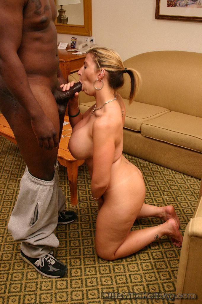 Milf receiving black cock-3360
