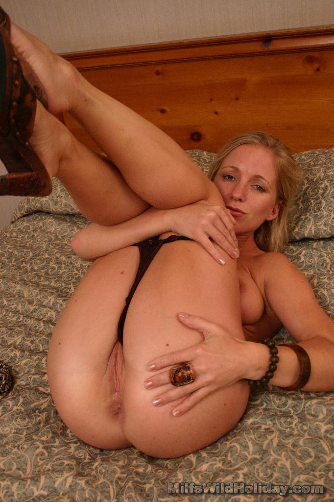 Something is. Milf takes it in ass right!