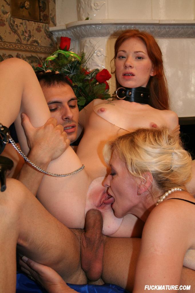 Redhead milf threesome Videos - Large PornTube