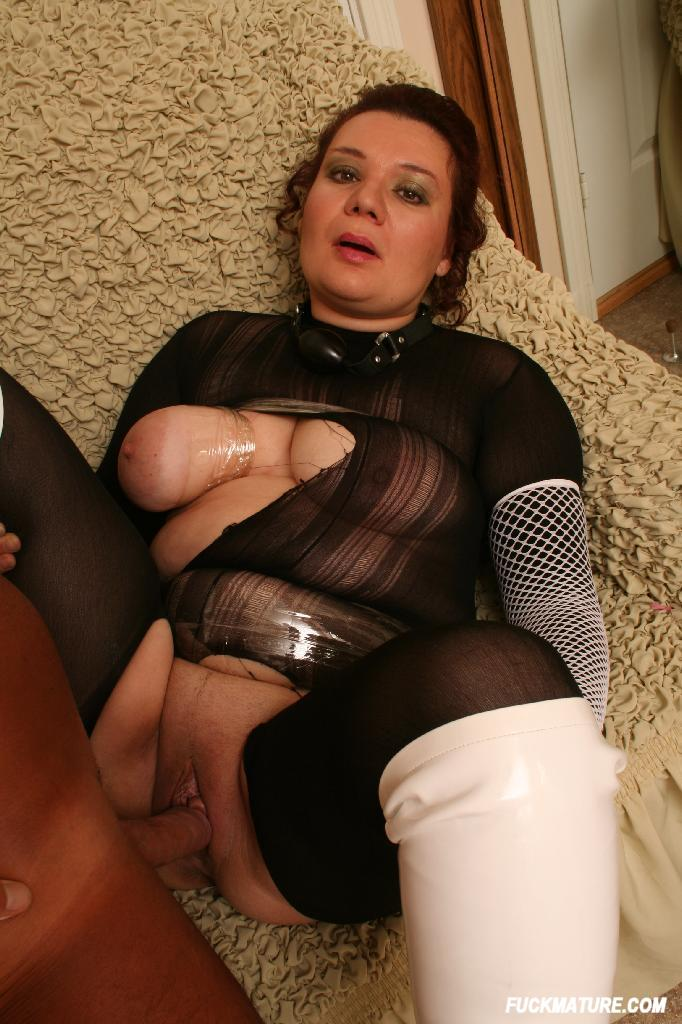Busty mature whore