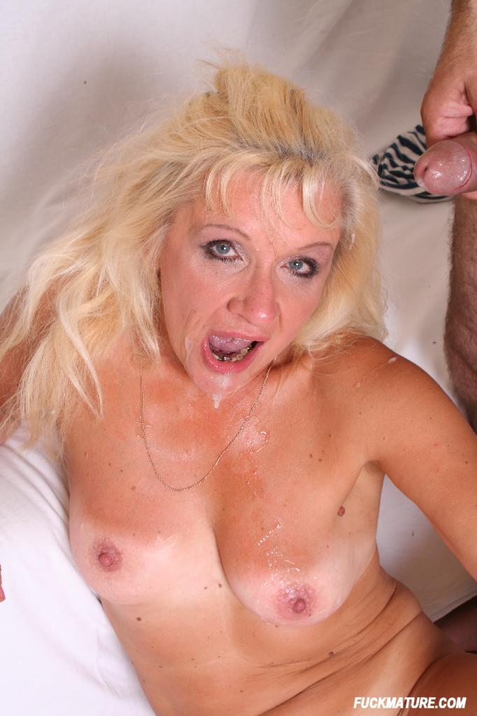 Cum eating granny porn