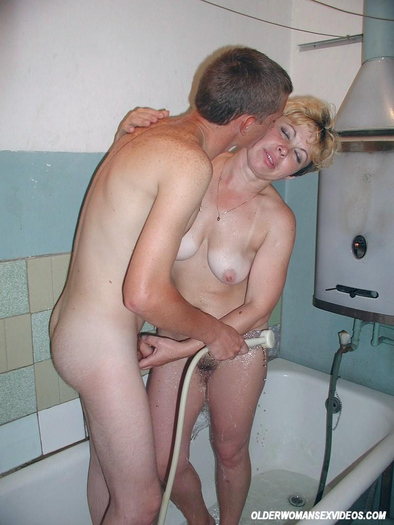 Milfs fucked in shower and plenty