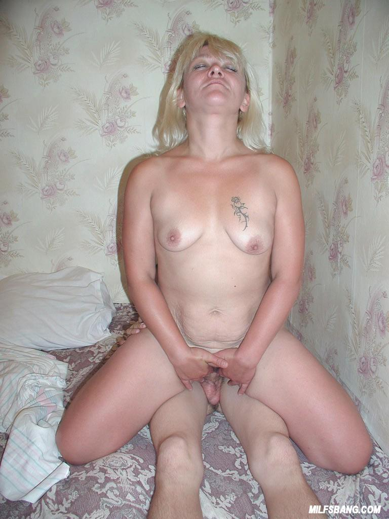 Amateur milf and young