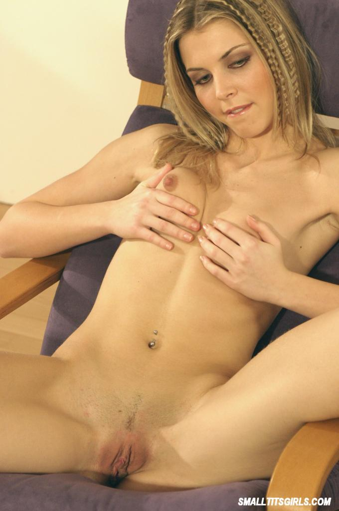 tanned female touching pussy