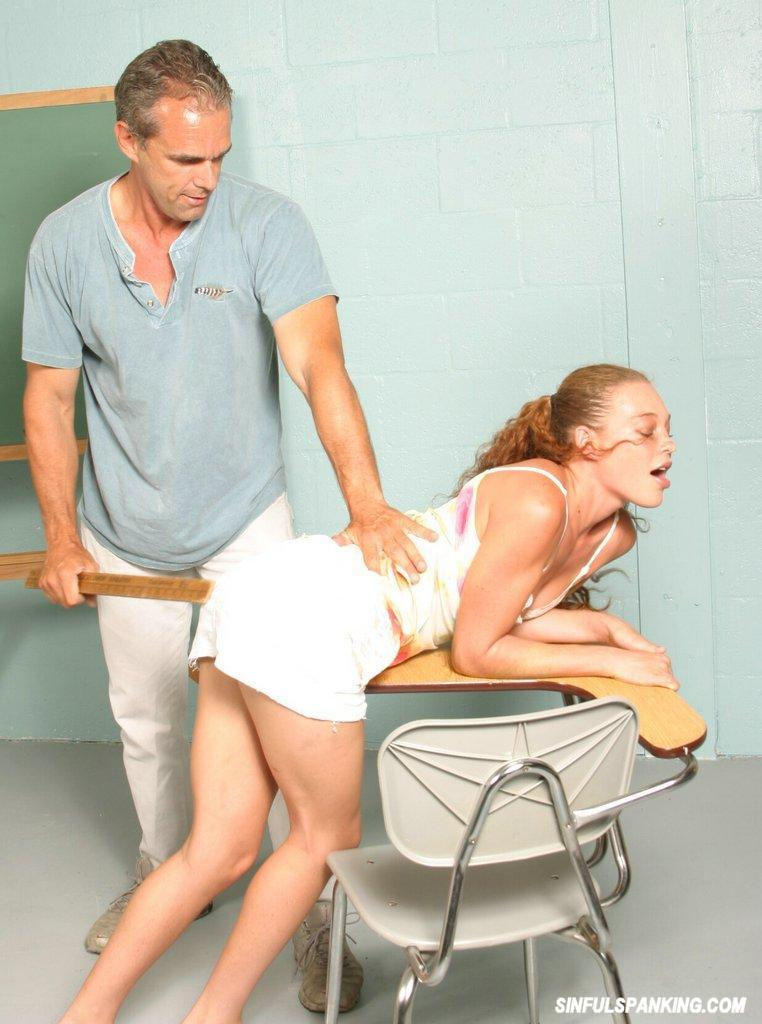 Young Girl Spanked In Class 2971-4751