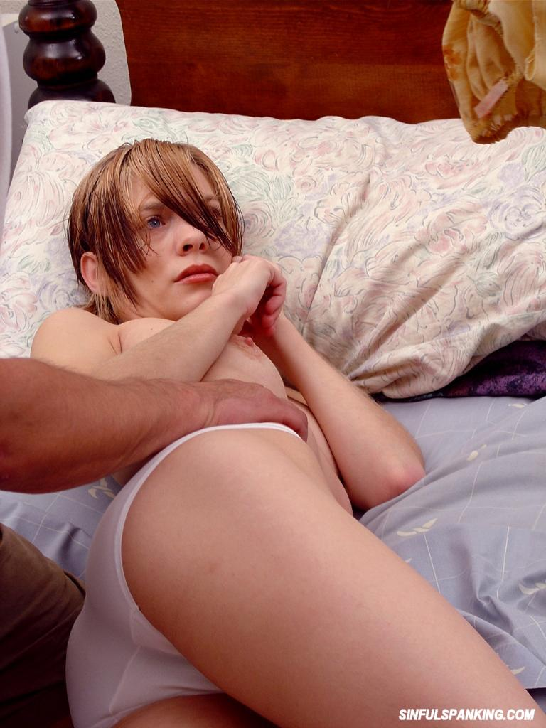 spanked by a young