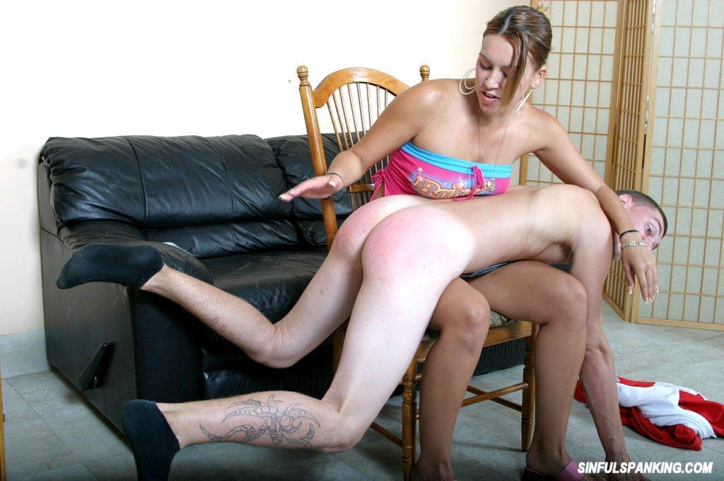 Erotic spanking video clips