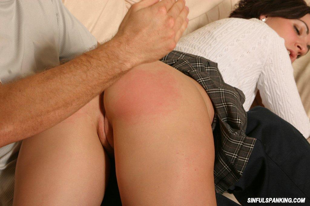 Big ass spanking