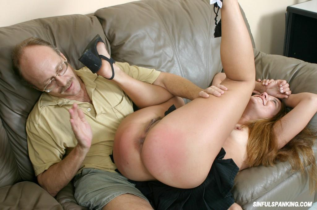 Sex spanking watch video
