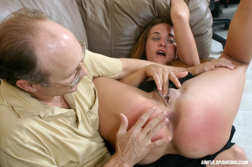 Older women being spanked