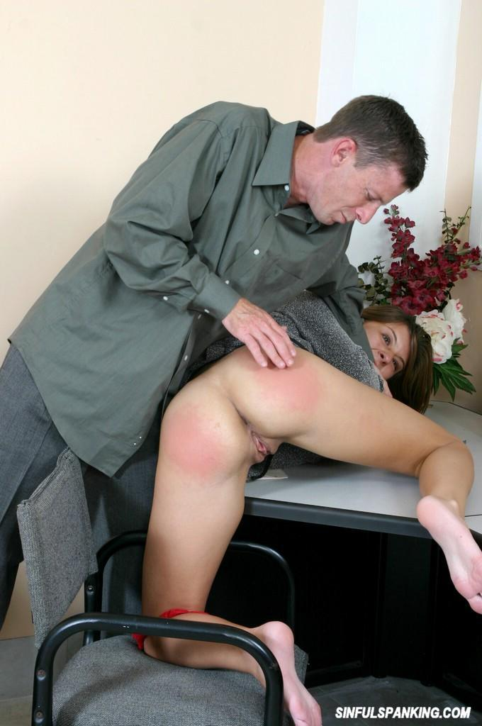 Apologise, secretary spanked by her boss commit
