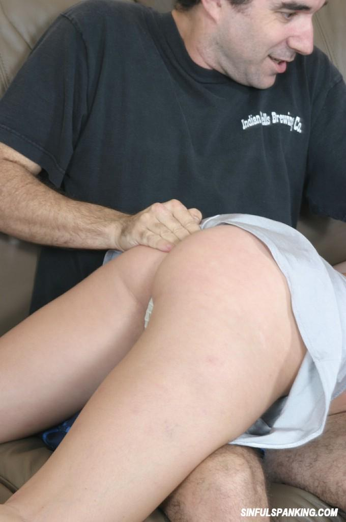 Spanked and fingered videos