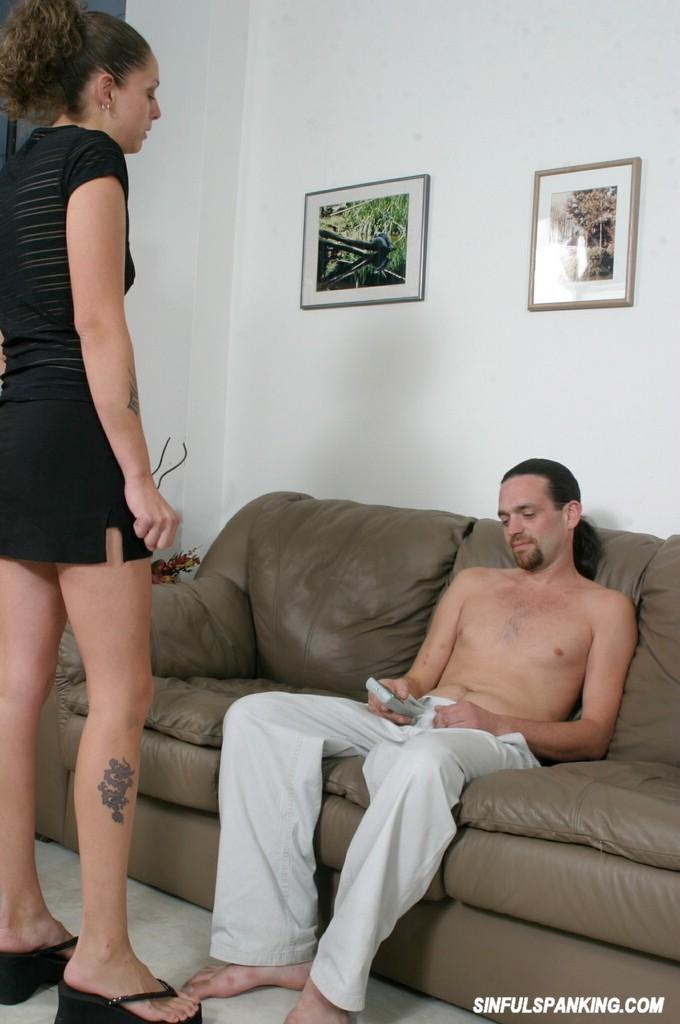 The spank naughty cunt Teen
