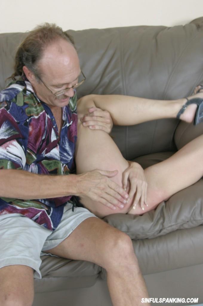 old man spanking tube