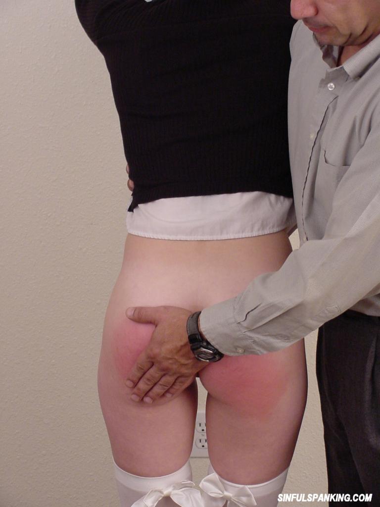 Stockings Mature Schoolgirl Gets Spanking 3028-3991