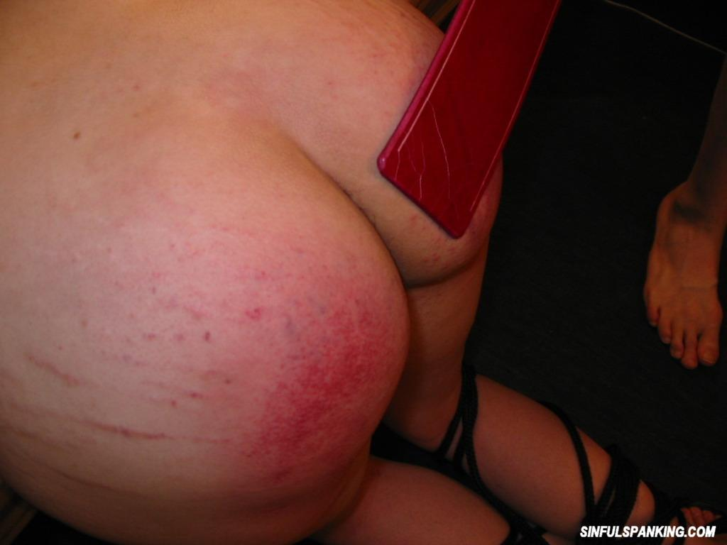 Hottie Bound and Spanked to Satisfy
