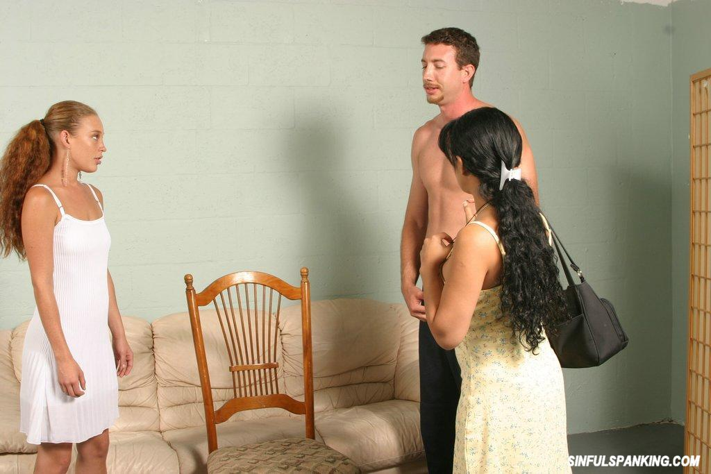 Wife spanked for cheating